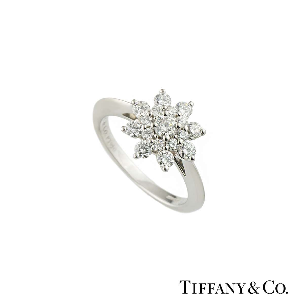 tiffany amp co flower diamond ring rich diamonds of bond